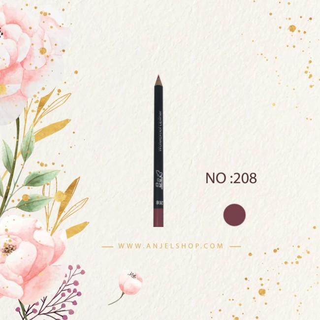 مداد لب بی اکسلنت کد (208)