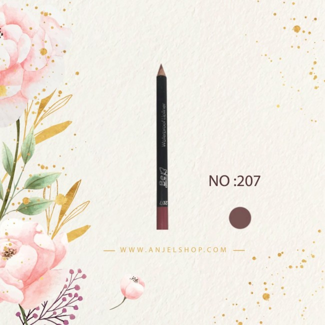 مداد لب بی اکسلنت کد (207)
