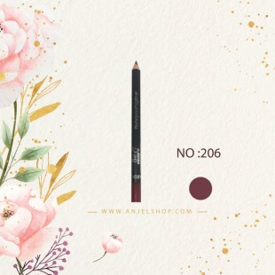مداد لب بی اکسلنت کد (206)