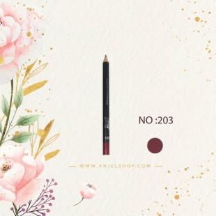 مداد لب بی اکسلنت کد (203)