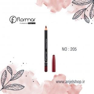 مداد لب فلورمار کد 205