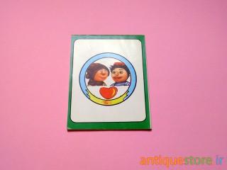دفتر یادداشت قدیمی کلاه قرمزی و پسر خاله (طرح 3)