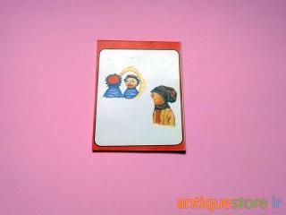 دفتر یادداشت قدیمی کلاه قرمزی و پسر خاله (طرح 5)