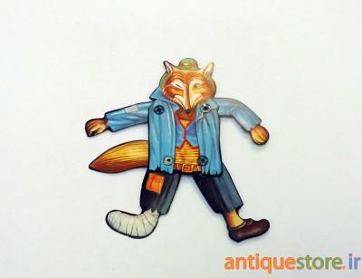 آدمک متحرک روباه مکار (طرح 2)
