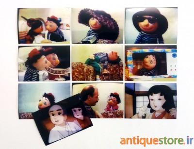عکس های خاطره انگیز برنامه کلاه قرمزی و پسر خاله ( نوروز 1373 )