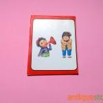دفتر یادداشت قدیمی کلاه قرمزی و پسر خاله (طرح 4)
