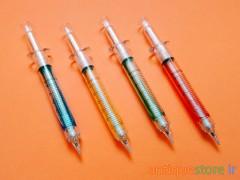 مداد فشاری خاطره انگیز آمپولی (سرنگی)