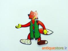 آدمک متحرک روباه مکار (طرح 1)