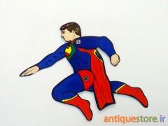 آدمک متحرک سوپرمن (طرح 2)