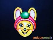 ماسک کارتونی قدیمی ( طرح مدرسه موشها )