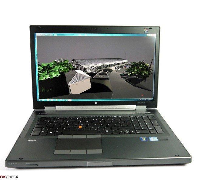 لپ تاپ استوک  HP workstation 8770w-i7