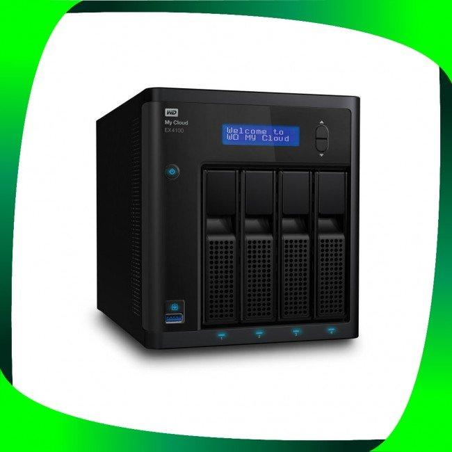 هارد اکسترنال تخصصی وسترن دیجیتال ۲۴TB WD My Cloud EX4100 Expert Series 4-Bay