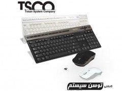 موس و کیبورد بی سیم TSCO TKM-7106