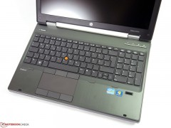لپ تاپ استوک HP Workstation 8570w پردازنده i7 نسل 3 گرافیک 2GB