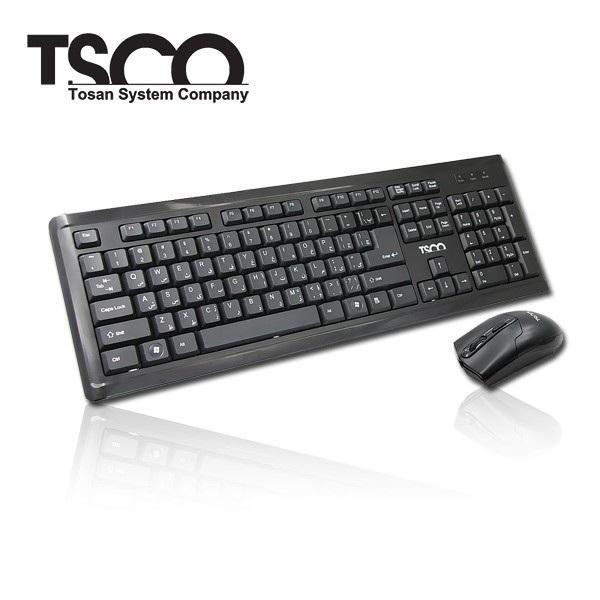 کیبورد و ماوس تسکو مدل TKM 8050 با حروف فارسی