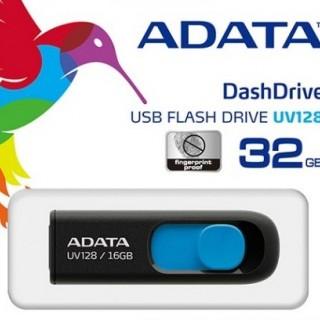 فلش مموري اي ديتا مدل DashDrive UV128 ظرفيت 32 گيگابايت