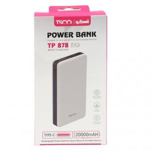 پاور بانک فست شارژ ۲۰۰۰۰ تسکو TSCO TP 878 18W QC3