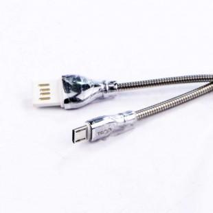 کابل میکرو یو اس بی روکش فلزی TSCO TC62N