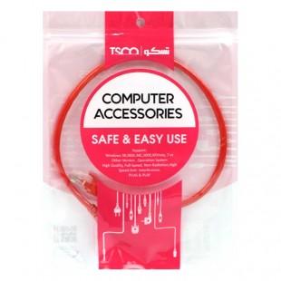 کابل شبکه TSCO UTP TNC605 Cat6 50cm