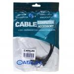 کابل ذوزنقه ای DataLife OTG mini USB 30cm
