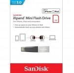 فلش سن ديسک 64 گیگابایت آیفونی iXpand Mini USB3.0