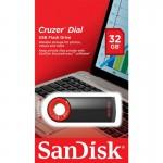 فلش مموری 32 گیگابایت SanDisk Cruzer Dial CZ57