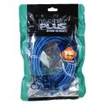 کابل افزایش طول USB K-net Plus 5m شیلددار