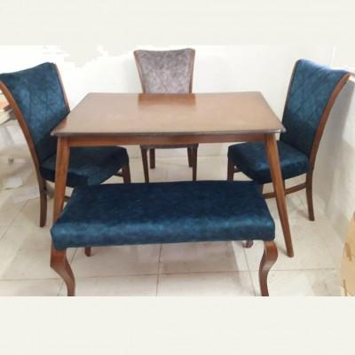 میز لوله ای با صندلی سون کد 1524