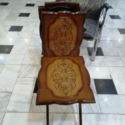عسلی چمدانی سی ان سی کد 1702