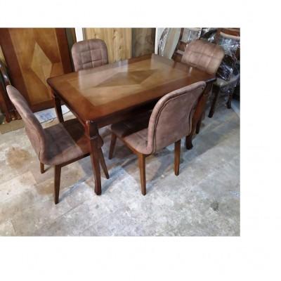 میز شیدا با صندلی لادیز کد 1525