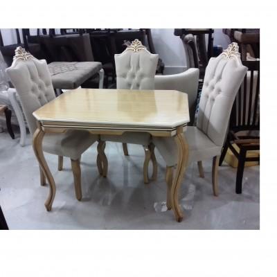 میز گلی با صندلی تینا کد 1526