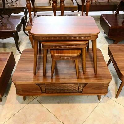 میز جلومبلی و عسلی مدل مروارید کد 1704