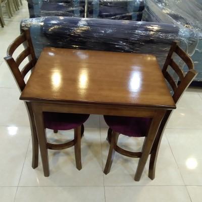 میز 2 نفره شاپرک با صندلی طوقی کد 1527