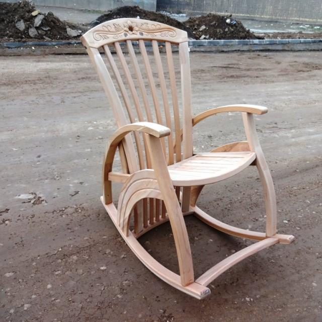 صندلی راک مارال چوب راش کد229