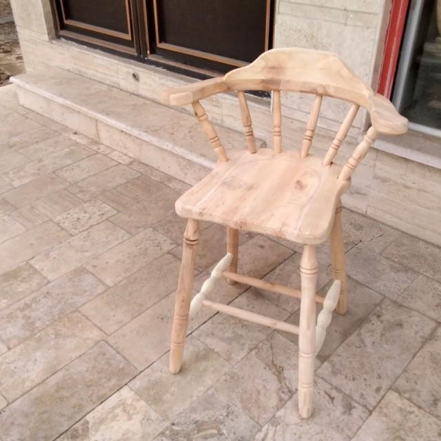 صندلی اپن مدل دسته دار خام کد 260