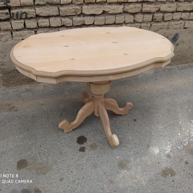 میز ایتالیایی 4 نفره خام کد 319