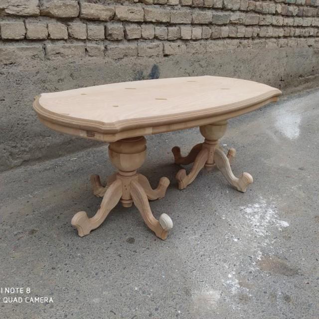 میز عسلی و جلومبلی ایتالیایی خام کد 1