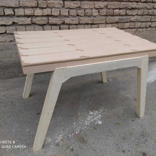 میز زاویه یا پایه کج خام کد 323
