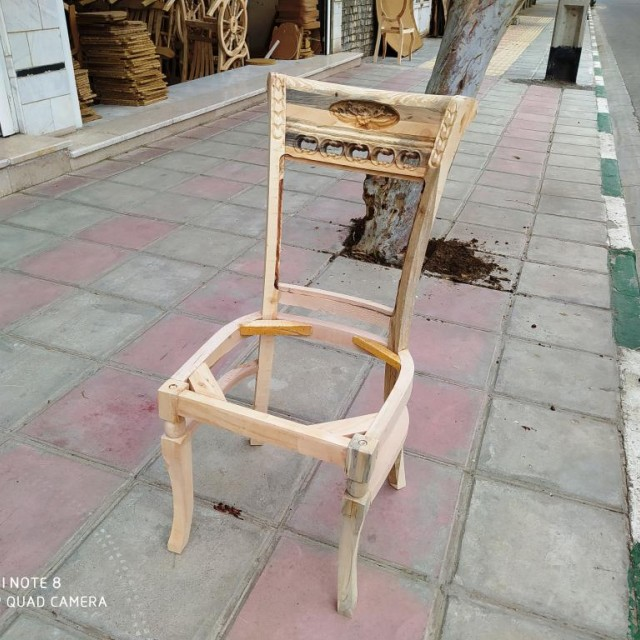 صندلی مدل ققنوس خام کد 162