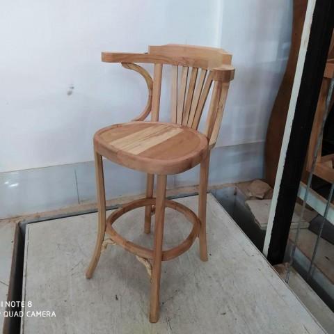 صندلی اوپن لهستانی دسته دار راش کد 255