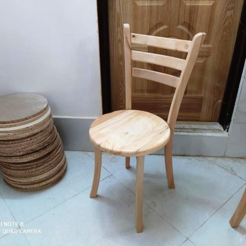 صندلی 3 تیره کف چوب راش کد 169