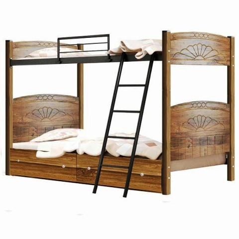 تخت خواب دو طبقه فلزی کد 5104