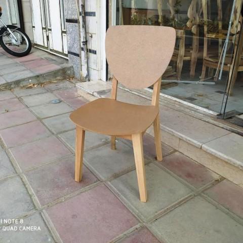 صندلی مدل فاما راش خام کد 171