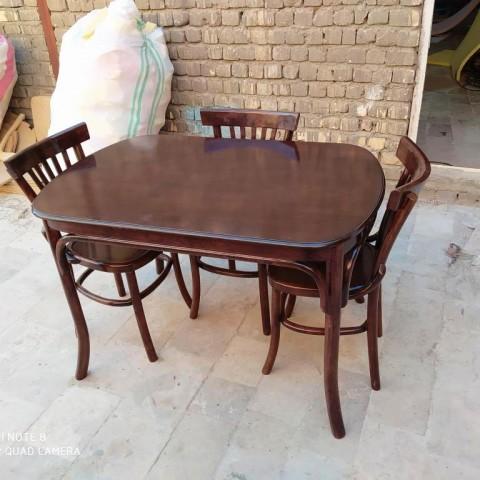 میز و صندلی مدل لهستانی کد 1553