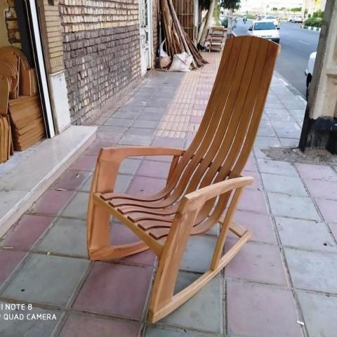 صندلی راک جدید دیپلمات چوب راش 234
