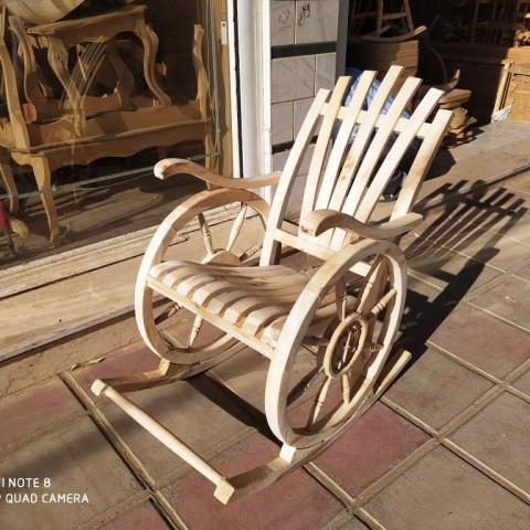 صندلی راک چرخی ملوانی و سکانی 2 کد 235