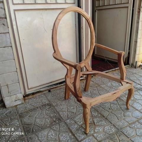 صندلی مدل لوگانو لگانو راش خام کد 173