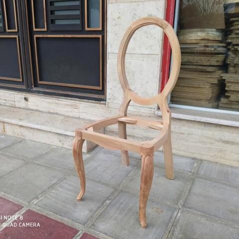 صندلی لگانو لوگانو ساده راش خام کد 174