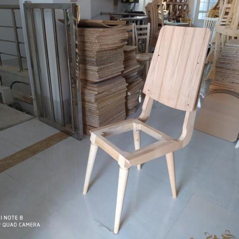 صندلی مدل سپیدار خام کد 176