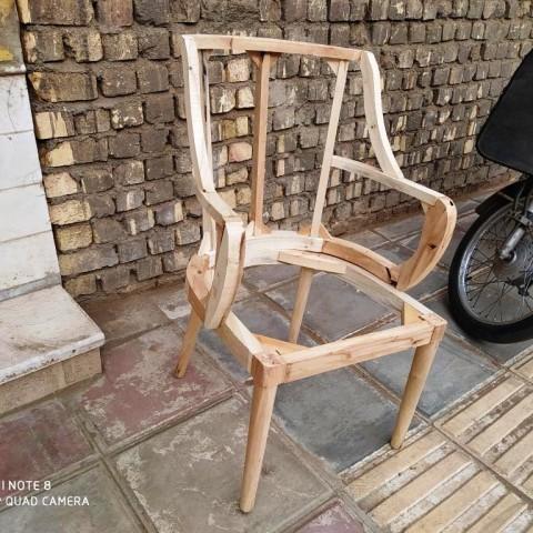 صندلی مدل چکاوک خام کد 177